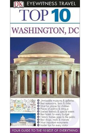 Dk Eyewitness Top 10 Travel Guide - Washington Dc - Burke,Susan | Hoshan.org