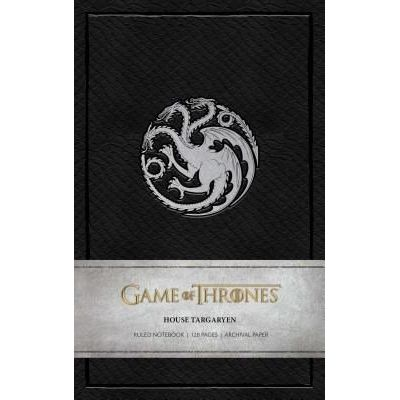 Game Of Thrones: House Targaryen Ruled Notebook