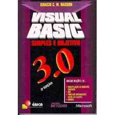 Visual Basic 3.0 - Simples e Objetivo