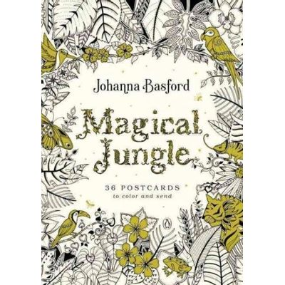 Magical Jungle - 36 Postcards To Color And Send