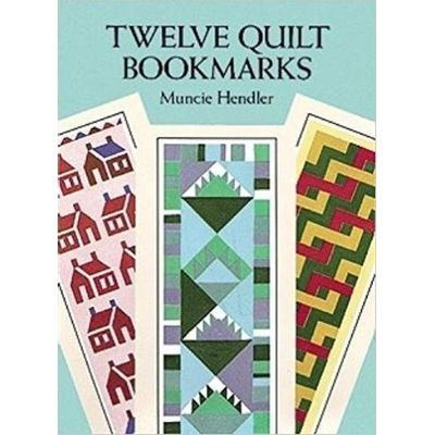 Small-Format Bookmarks - Twelve Quilt Bookmarks