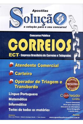 Apostila - Correios - Empresa Brasileira de Coreios e Telégrafos - Concurso Público - Solução,Editora pdf epub