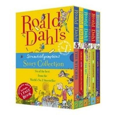 Roald Dahl's Scrumdidlyumptious Story Collection