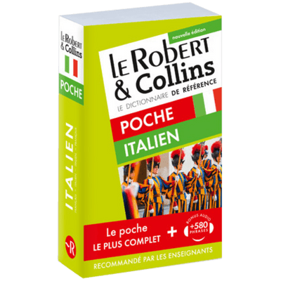Dictionnaire Le Robert & Collins Poche Italien Ne
