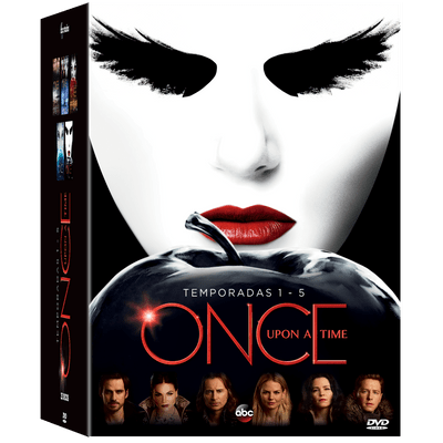 DVD Once Upon A Time - Exclusivo - 1ª A 5ª Temporada - 25 Discos