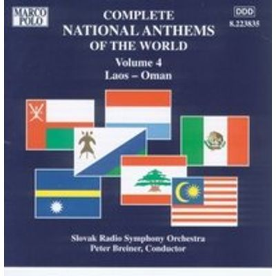 Complete National Anthems of the Worls Vol.4
