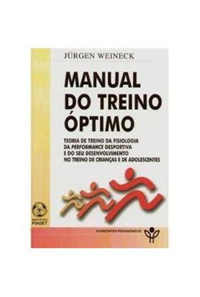 Manual do Treino Optimo - Weineck,Jurgen pdf epub