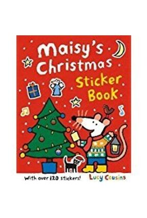Maisy's Christmas Sticker Book - Cousins,Lucy   Hoshan.org