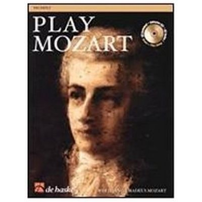 Play Mozart - Alto Sax - Book + CD