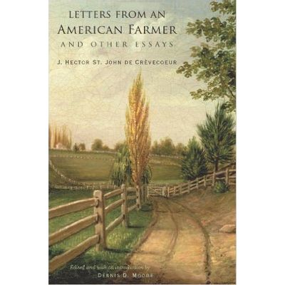 John Harvard Library (Hardcover) - 49 - Letters From An American Farmer And Other Essays