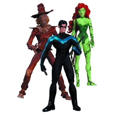 Nightwing, Poison Ivy And Scarecrow - 3 Pack - Dc Direct