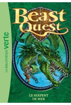 Beast Quest - Tome 2 - Le Serpent De Mer - Hachette Fr | Tagrny.org