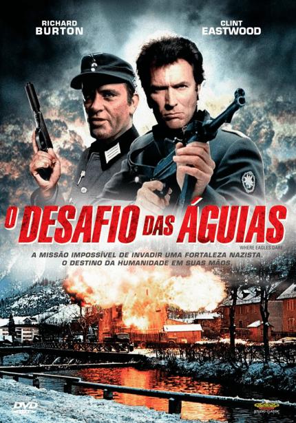 O Desafio Das Águias - DVD - Saraiva