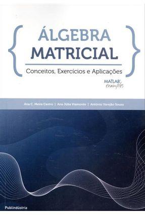 Álgebra Matricial - Conceito, Exercícios e Aplicações - Castro,Ana C. Meira Viamonte,Ana Júlia Sousa,Antônio Varejão | Nisrs.org