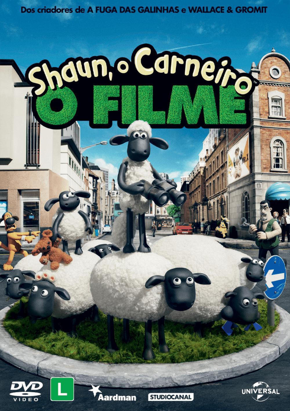 Shaun O Carneiro O Filme Dvd Saraiva