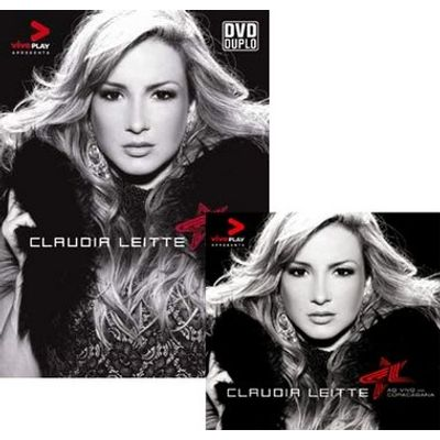 Kit CD + DVD Claudia Leitte - Ao Vivo em Copacabana