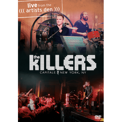 The Killers - Live From The Artist Den - DVD