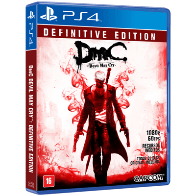 Dmc - Devil May Cry - Definitive Edition - PS4