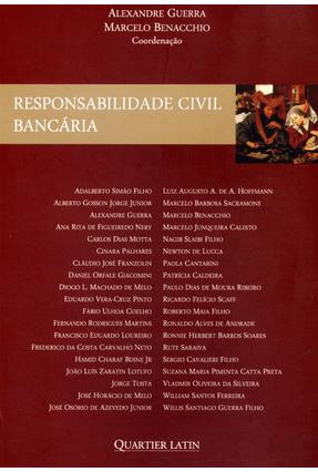 Responsabilidade Civil Bancária - Guerra,Alexandre Benacchio,Marcelo | Nisrs.org