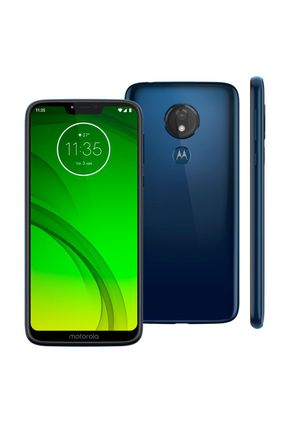 Smartphone Motorola Moto G7 Power XT1955 32GB 3GB RAM 12MP Tela 6.2 Azul Navy