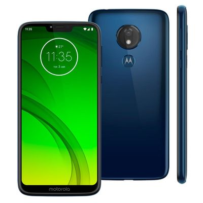 Smartphone Motorola Moto G7 Power XT1955 64GB 4GB RAM 12MP Tela 6.2 Azul Navy