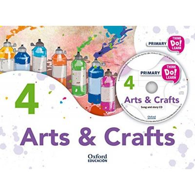 Arts And Crafts 4 - Student Book Pack With Audio Cd