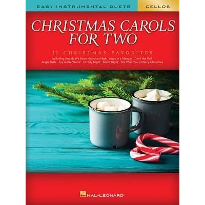 Christmas Carols For Two Cellos - Easy Instrumental Duets