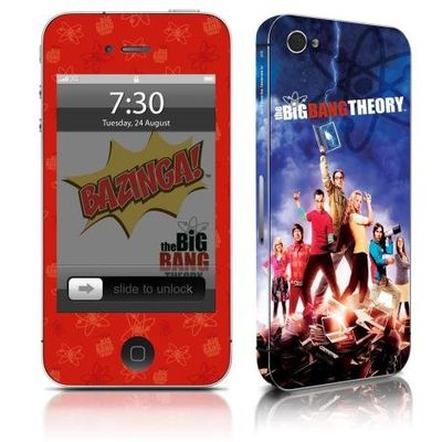 Adesivo Para Celular The Big Bang Theory - Para iPhone 4s