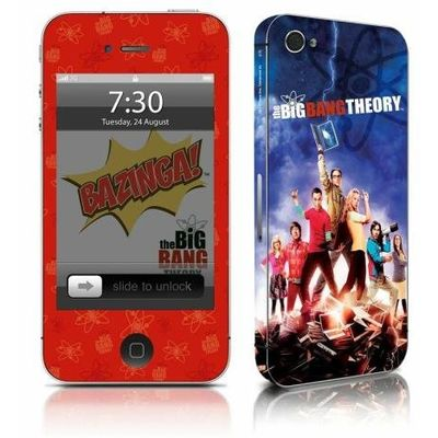 Adesivo Para Celular The Big Bang Theory - Para iPhone 4