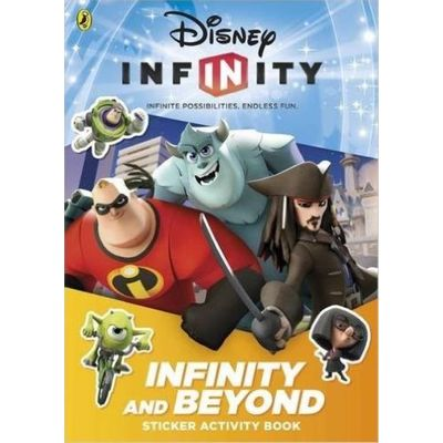Disney Infinity Sticker Activity