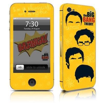 Adesivo Para Celular The Big Bang Theory Icons - Para iPhone 4s