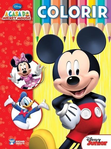 Disney Colorir A Casa Do Mickey Mouse Saraiva