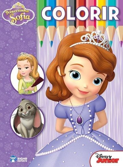 Disney Colorir Princesinha Sofia Saraiva