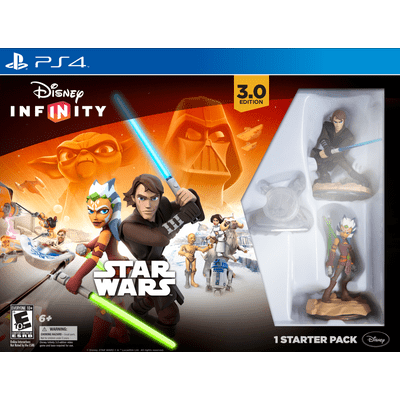 Reembalado - Disney Infinity 3.0 Edition - Starter Pack - PS4