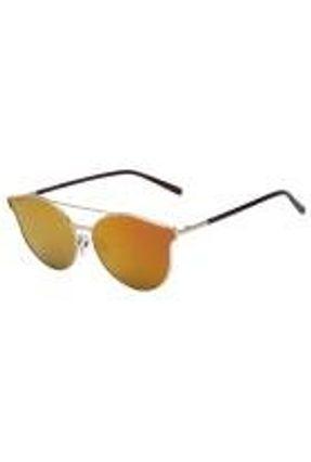 Atitude At 3202 - Óculos De Sol 04a Dourado E Marrom Brilho/