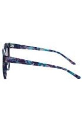 Evoke For You Ds8 - Óculos De Sol G21 Azul Mesclado E Prata Brilho/ Preto Degradê Lente 5,0 Cm
