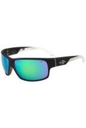 Mormaii Joaca Ii - Óculos De Sol Preto E Transparente Fosco/ Verde Espelhado Unico