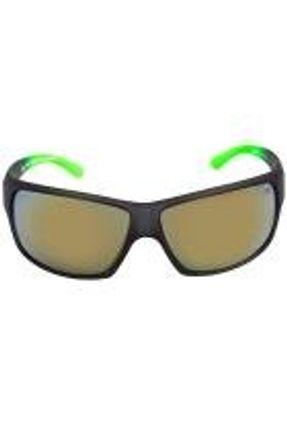 Mormaii Joaca Ii - Óculos De Sol Cinza E Verde Fosco/ Amarelo Espelhado Unico