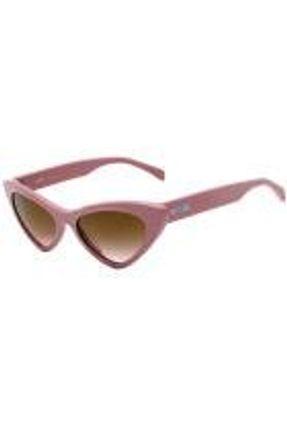 Moschino Mos006 S - Óculos De Sol 35j 53 Rosa E Dourado Bril