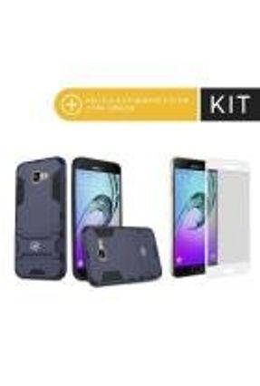 Kit Capa Armor e Peli´cula Coverage Branca para Galaxy A5 2017 - Gorila Shield