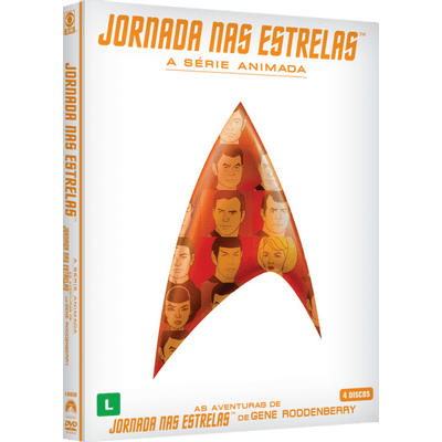 DVD Star Trek - Animated Series - 4 Discos