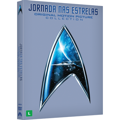Box DVD Jornada Nas Estrelas - The Original Motion Picture Collection - 6 Discos