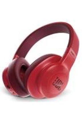 Fone de Ouvido Headphone Over-Ear JBL Bluetooth E55BT Vermelho