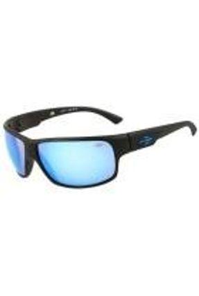 Mormaii Joaca Ii - Óculos De Sol Preto Fosco/ Azul Espelhado