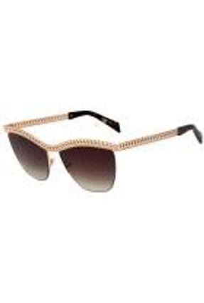 Moschino Mos010 S - Óculos De Sol 06j Ha Dourado Brilho/ Pre