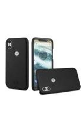 Capa Leather Slim Preta Motorola One - Gorila Shield