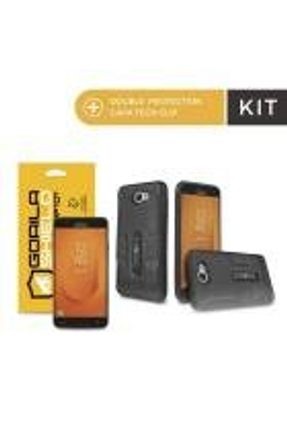 Kit Capa Tech Clip e Película de Vidro Dupla para Galaxy J7 Prime 2 - Gorila Shield