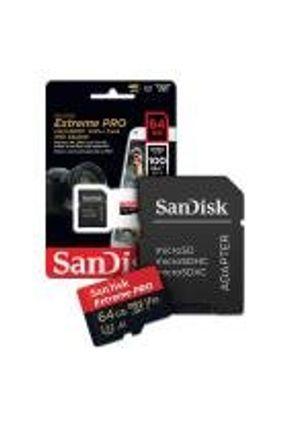 Cartão de Memoria 64gb Micro sd Cl10 100mb/s Extreme Pro SDSQXCG Sandisk