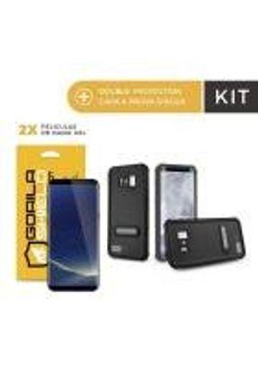 Kit Capa á Prova D'água e Película Nano Gel Dupla para Galaxy S8 - Gorila Shield