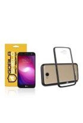 Kit Capa Ultra Slim Air Preta e Película de vidro dupla para LG K10 power – Gorila Shield